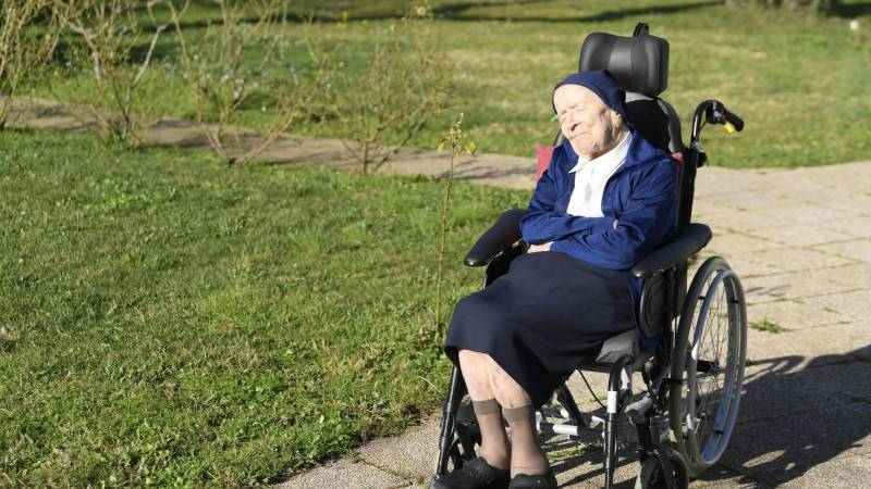 French nun, Europe's oldest person, turns 117 after surviving Covid