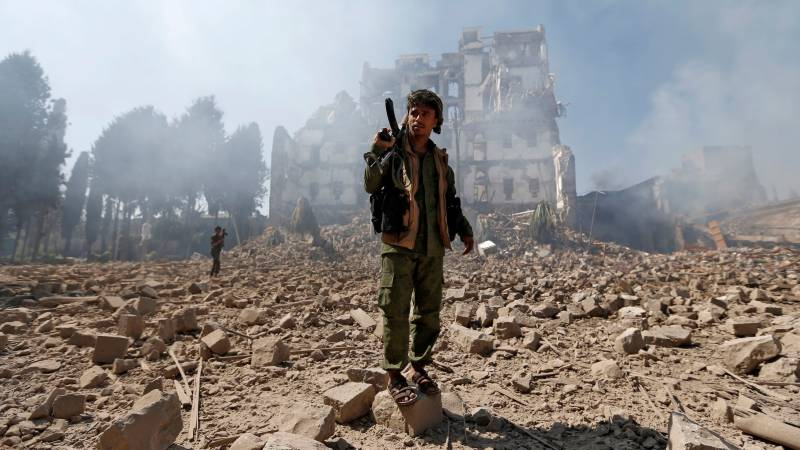 Dozens dead as Huthi offensive in Yemen's north escalates