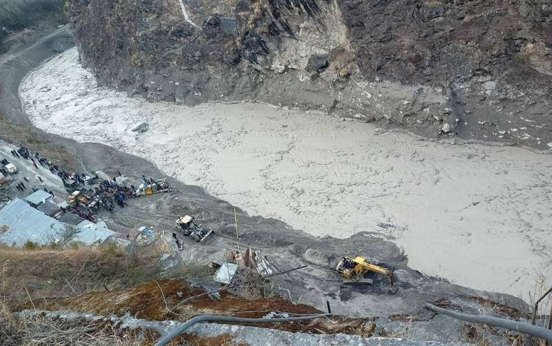 India fears another flash flood from new Himalayan lake