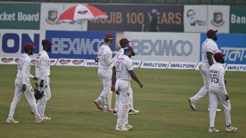 Windies put Bangladesh under pressure in day two of second Test