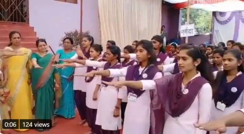 Valentine's Day: Female students in India forced to take 'pledge against love marriage'