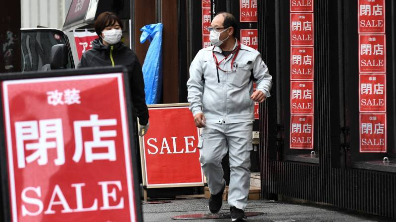 Japan economy shrinks for first time since 2009