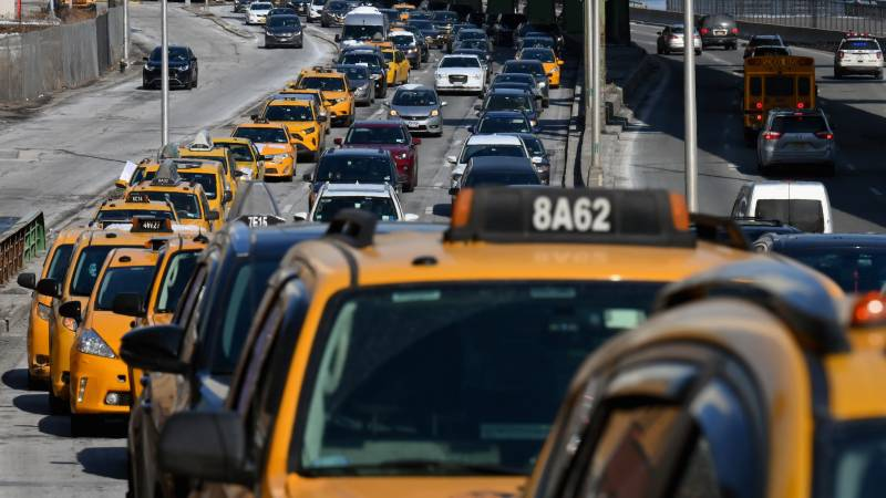 Pandemic threatens New York's iconic yellow taxis