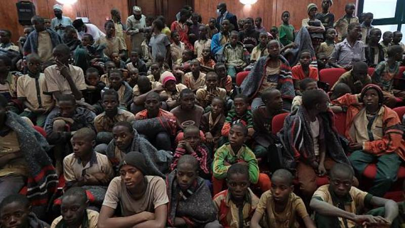 Hundreds of schoolboys kidnapped in Nigeria