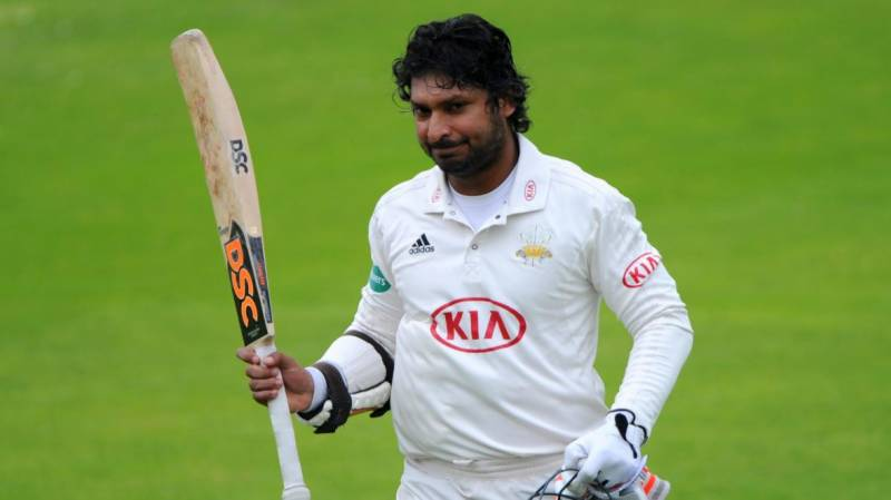 Sangakkara's Lord's centuries to be celebrated on Father Time Wall
