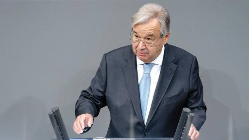 UN chief urges global vaccination plan for Covid-19