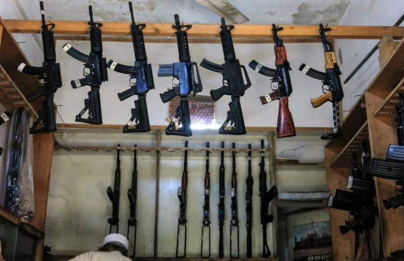 Father-son duo possess most gun licenses in Lahore