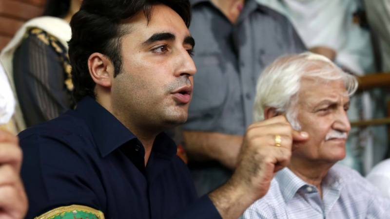 'Selected rulers' panicked by Gilani's entry into Senate elections: Bilawal