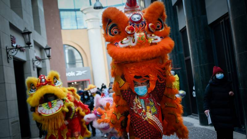 China passenger trips plummet over Lunar New Year due to Covid fears
