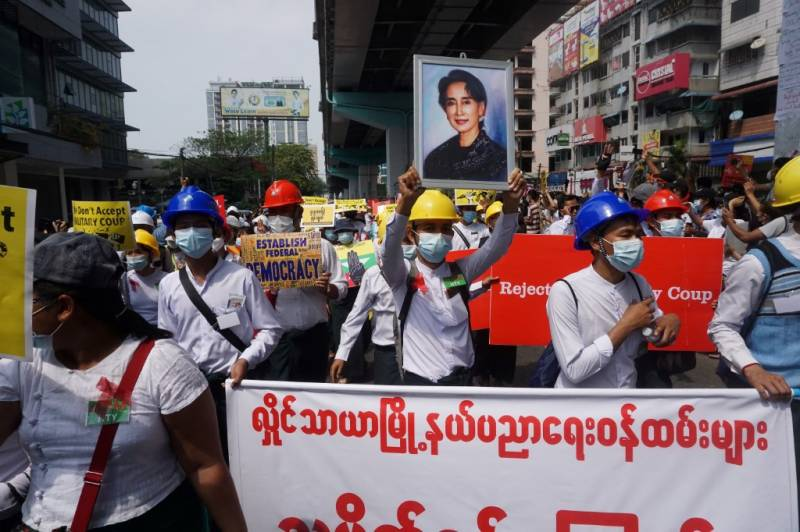 First death hits Myanmar's anti-coup movement as pressure swells against generals