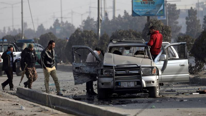 Five killed in multiple Kabul morning bomb attacks