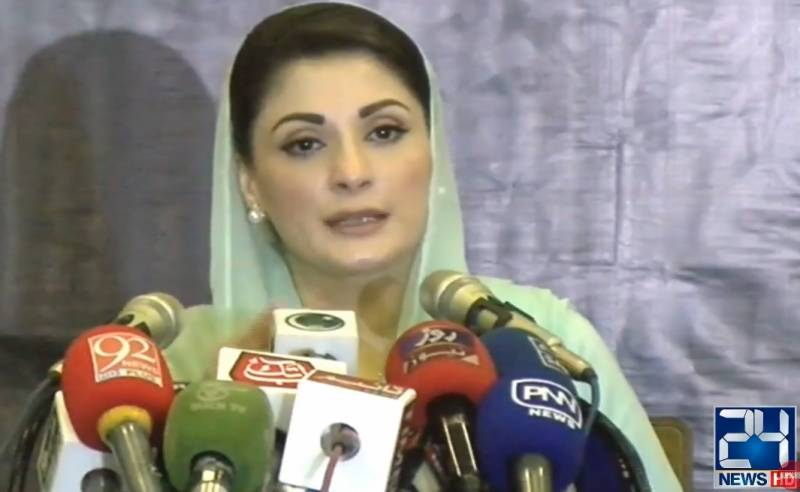 Saluting ECP, Maryam Nawaz exposes rigging in by-election with 'evidence'