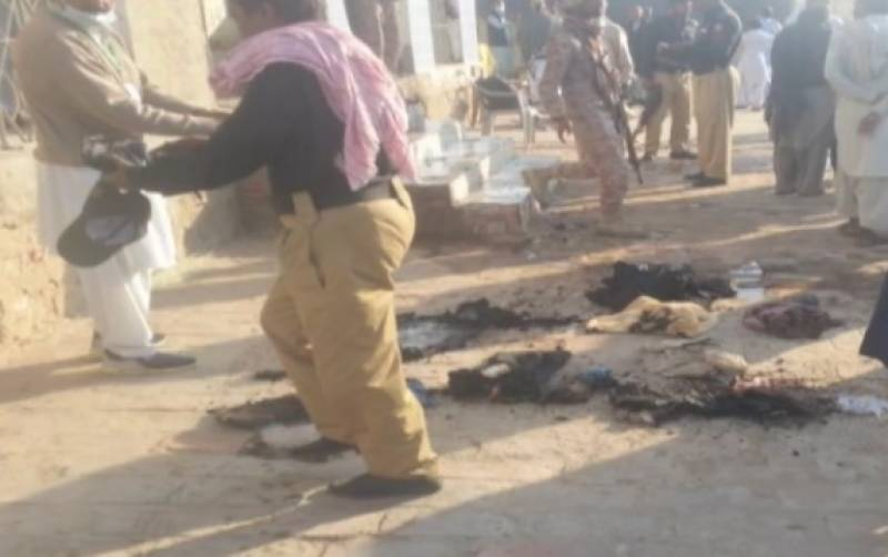 Polling station set on fire during voting for Tharparkar by-election