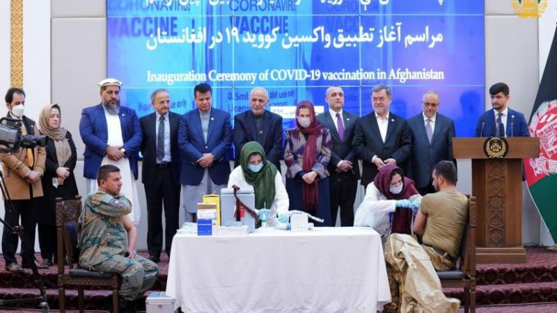 Afghanistan begins Covid vaccine campaign amid surge in violence