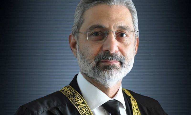 CJP constitutes larger bench in Qazi Faez Isa review petition