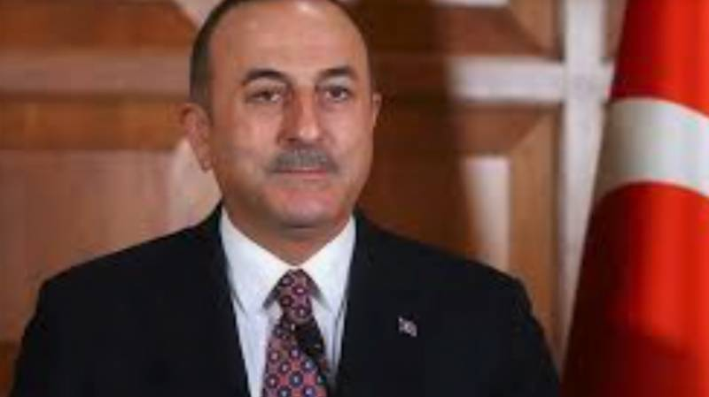 Turkish FM raises Kashmir issue at UN