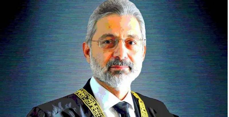 Justice Qazi Isa wants live coverage of his review petitions