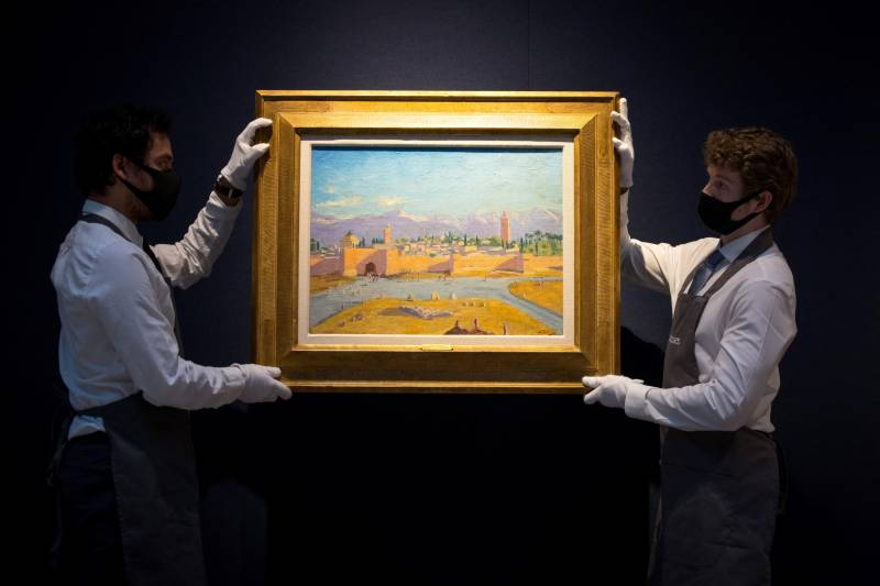 Churchill's most important painting sells for £7 million
