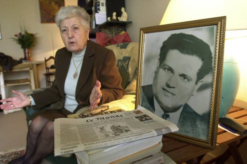 France admits 'torture and murder' of Algerian freedom fighter