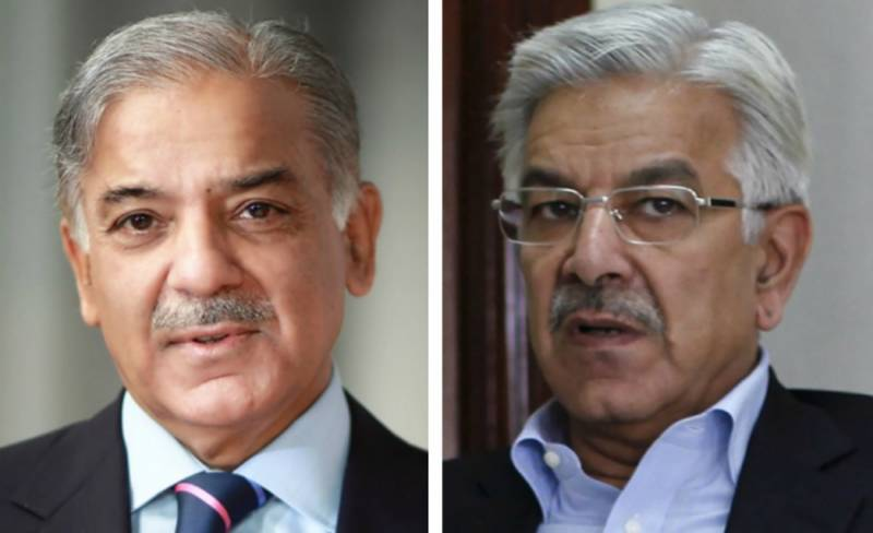 Shehbaz, Khawaja Asif released from jail, taken to Islamabad for Senate vote