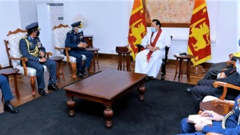 Sri LankanPM praises Pakistan's support in the hour of need