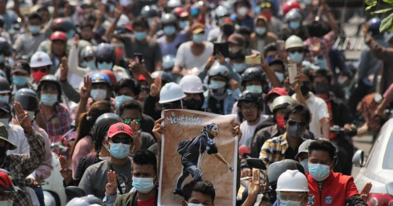 'Everything will be ok': Myanmar mourns teen killed protesting