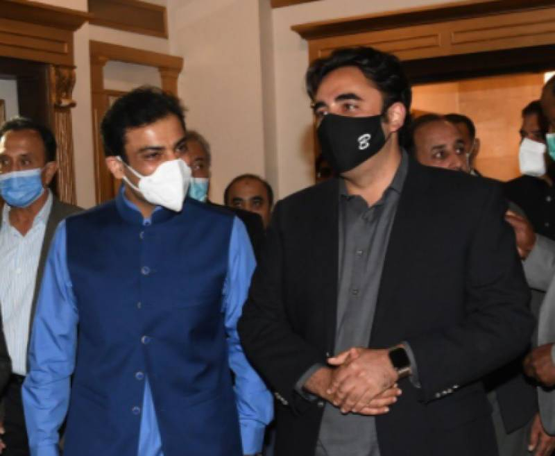 Bilawal, Hamza agree on joint fight from PDM platform