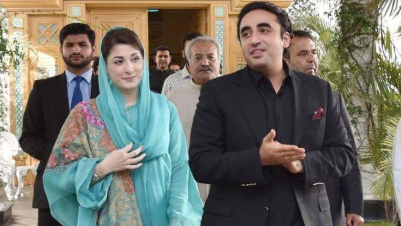 Senate victory result of PDM unity: Bilawal, Maryam