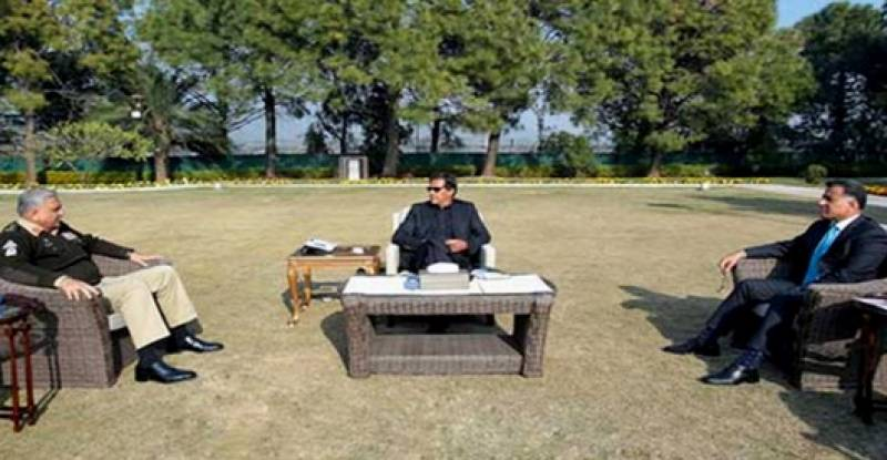PM Imran holds talks with COAS, ISI chief