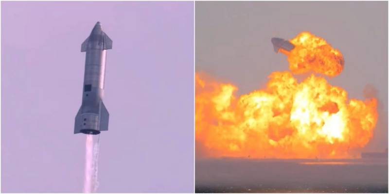 SpaceX rocket explodes on ground after seemingly successful flight