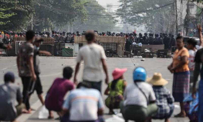 UN tells Myanmar military to 'stop murdering' protesters