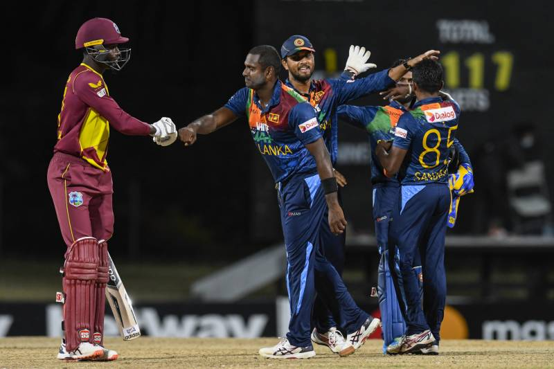 Spinners lead Sri Lanka to series-levelling win over Windies