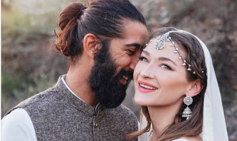 Canadian biker girl marries her Pakistani 'best friend'