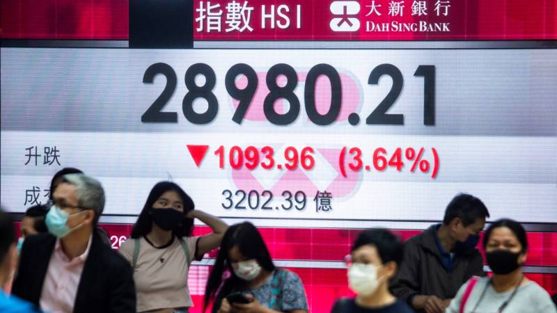 Most Asian markets fall as inflation fears trump signs of recovery