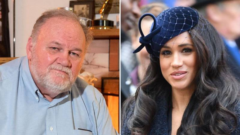 Meghan's father suggests she exaggerated royal racism