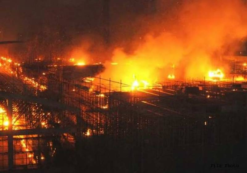 At least 20 dead in Egypt clothing factory fire