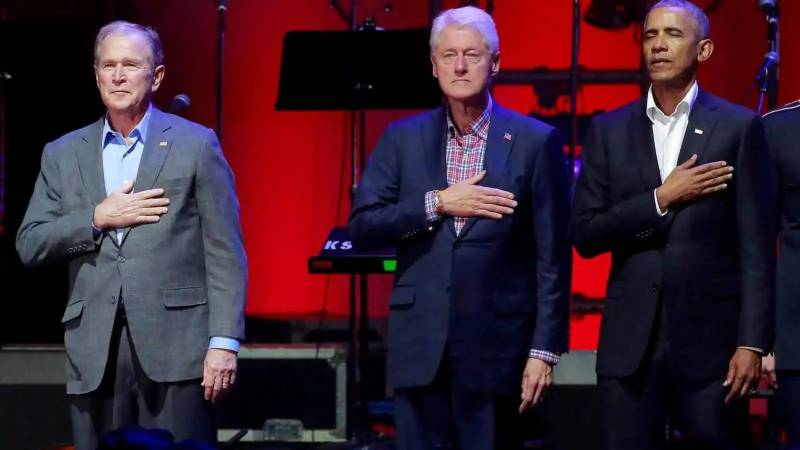 Get vaccinated, ex-presidents urge Americans