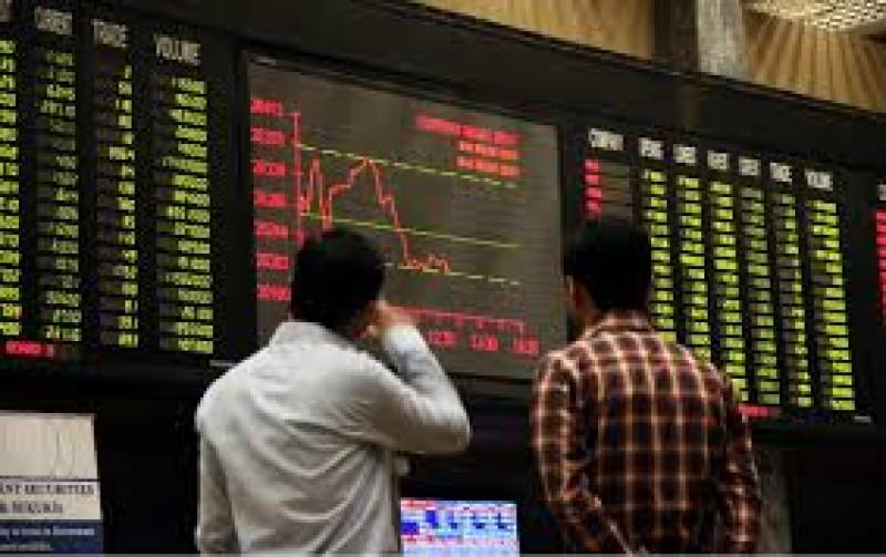 Share prices crash at jittery Pakistan Stock Exchange