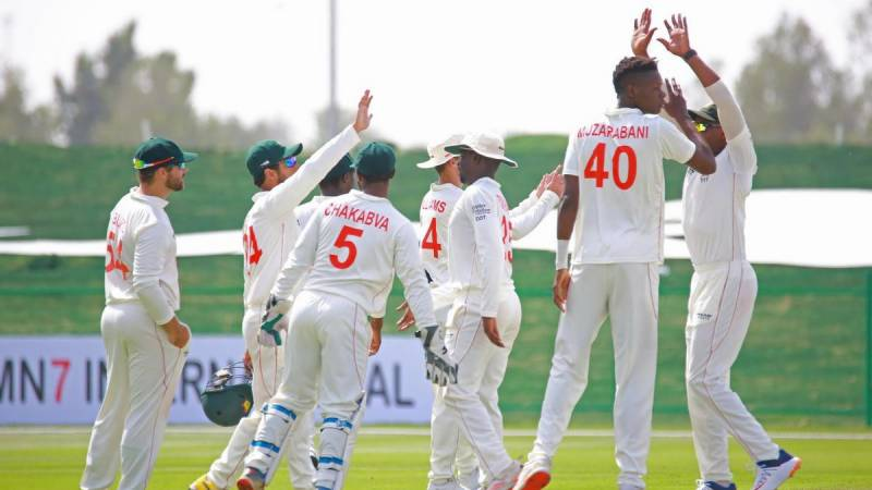 Afghan spinners dominate Zimbabwe in second Test