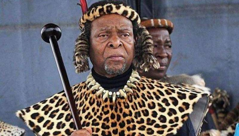 South Africa's Zulu King Goodwill Zwelithini dies aged 72
