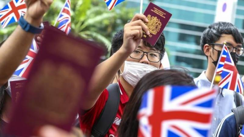 China now 'non-compliant' with Hong Kong joint declaration: UK