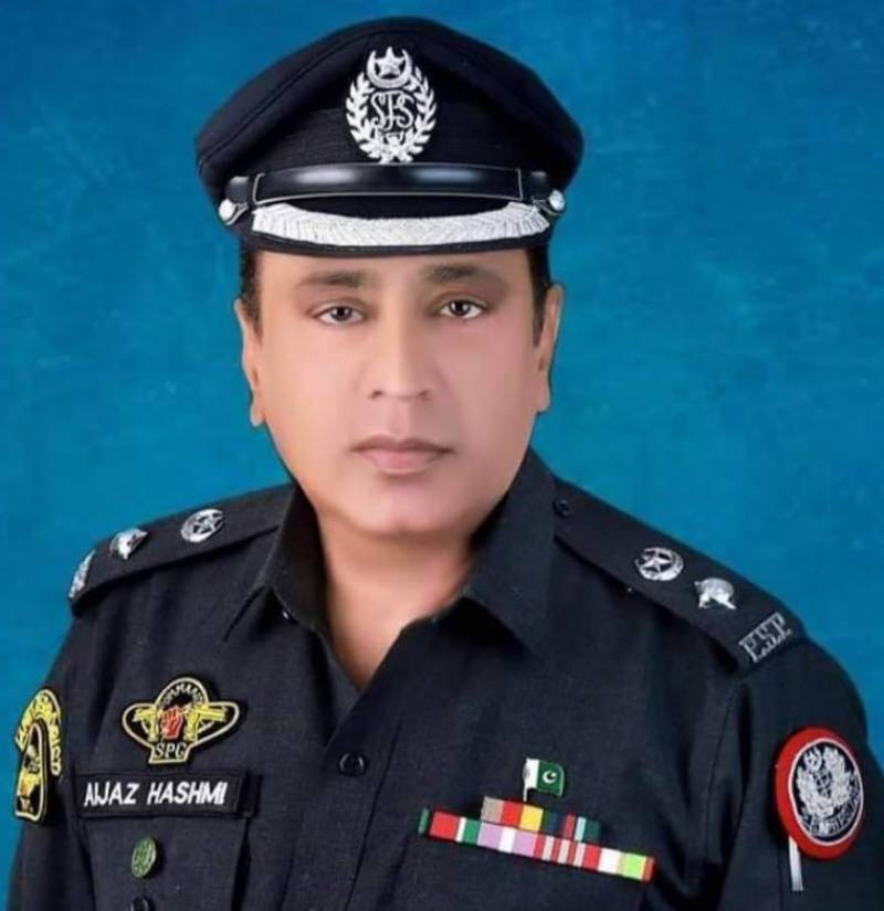 Karachi SSP removed from post