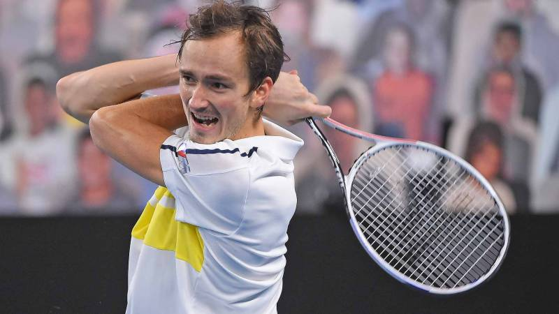 Medvedev into Marseille final as Ebden limps out