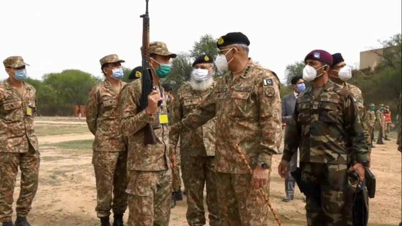COAS Bajwa tells troops to keep abreast of changing nature of threat
