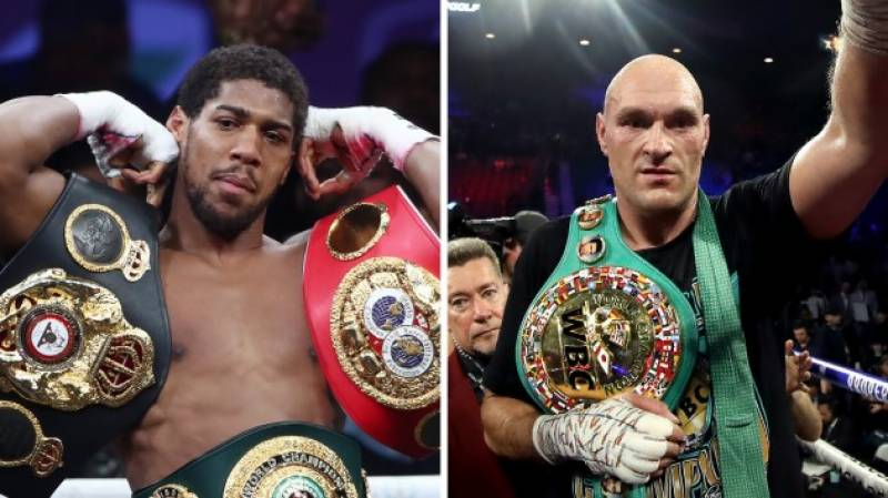 Joshua, Fury sign two-fight heavyweight unification deal: promoter