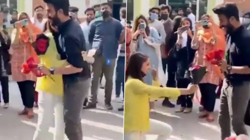 University of Lahore's lovebirds get Fawad's support
