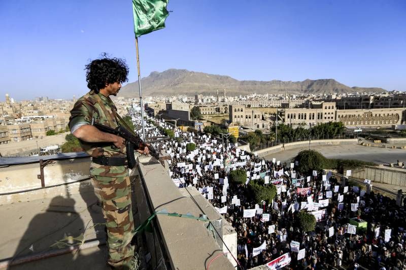 Yemen rebels say US comments 'positive' but call for action