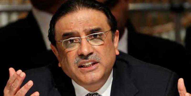 Take on anti-democracy forces from within Parliament, Zardari tells PDM