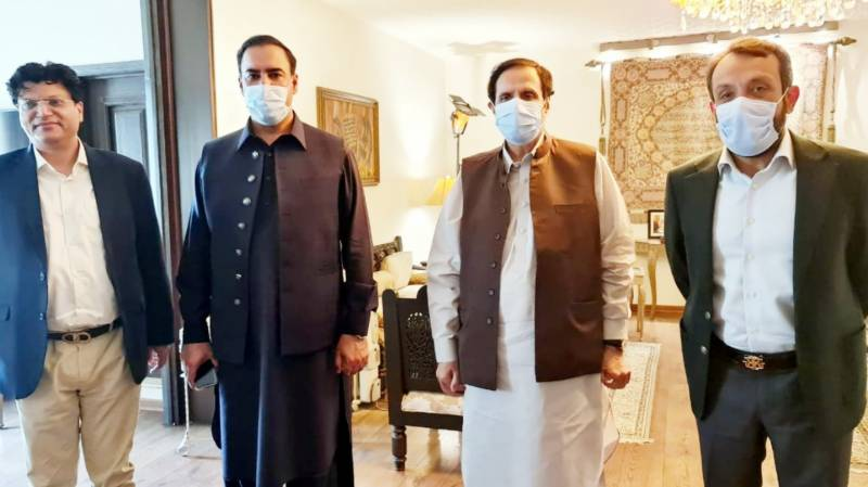 Ch Parvez for devising strategy to give relief to people during pandemic