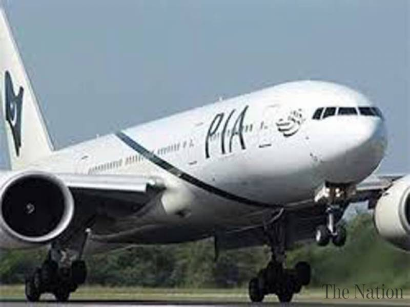PIA plane escapes disaster after bird hit